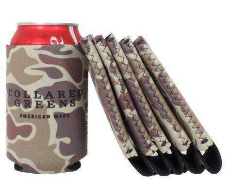 Can Holders - Camouflage Can Holder By Collared Greens