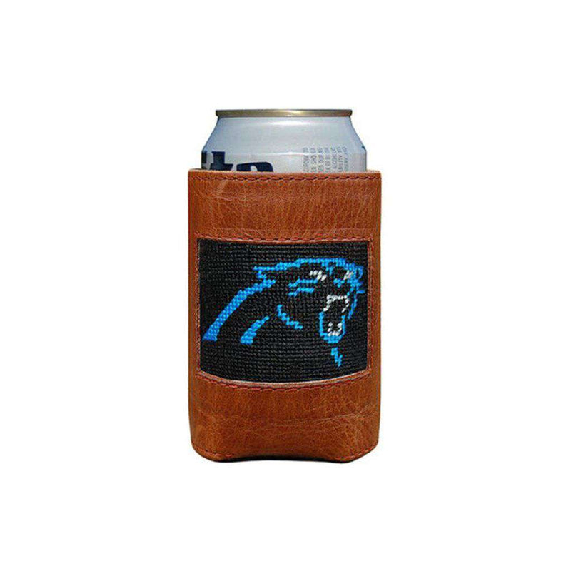Carolina Panthers Needlepoint Can Holder by Smathers & Branson