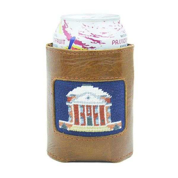 Charlottesville Rotunda Needlepoint Can Holder by Smathers & Branson