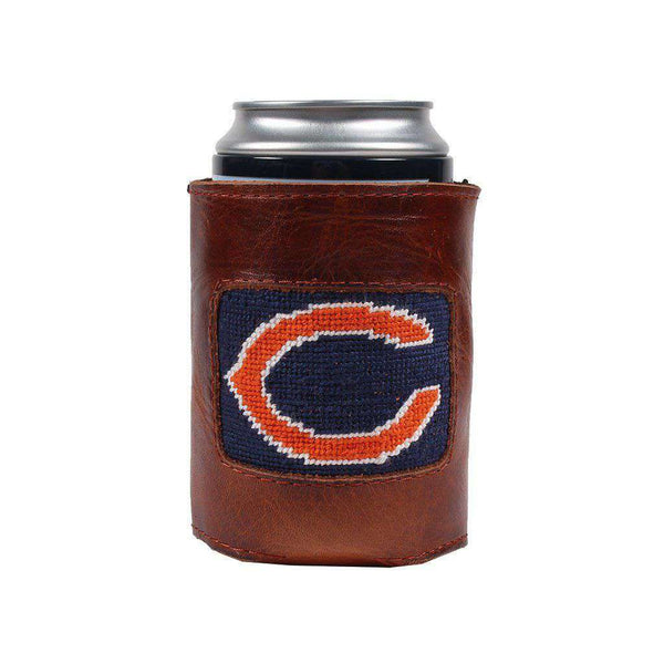 Can Holders - Chicago Bears Needlepoint Can Holder By Smathers & Branson