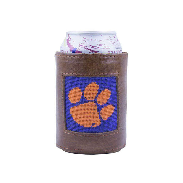 Can Holders - Clemson Needlepoint Can Holder By Smathers & Branson