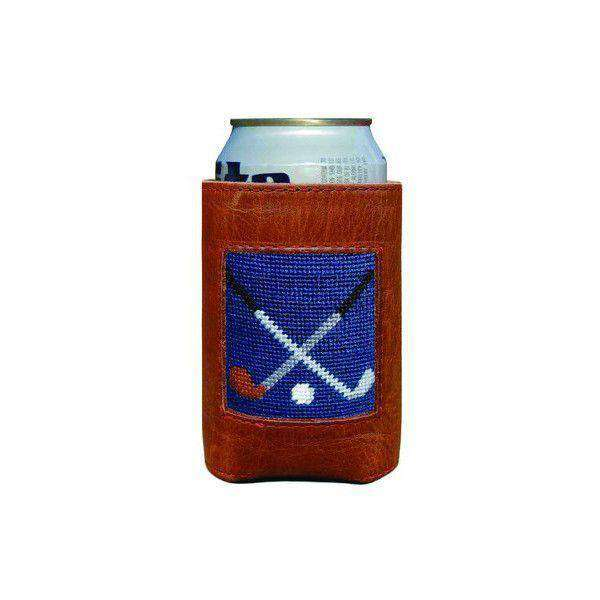 Can Holders - Crossed Clubs Needlepoint Can Holder By Smathers & Branson