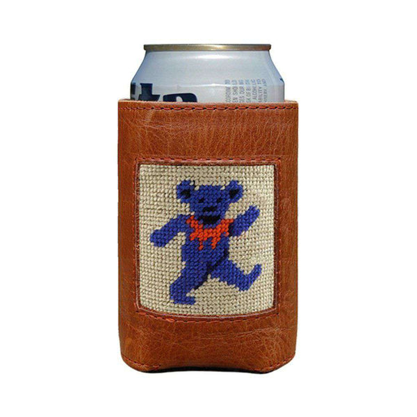Can Holders - Dancing Bear Can Cooler In Oatmeal By Smathers & Branson
