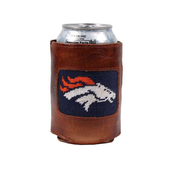Denver Broncos Needlepoint Can Holder by Smathers & Branson