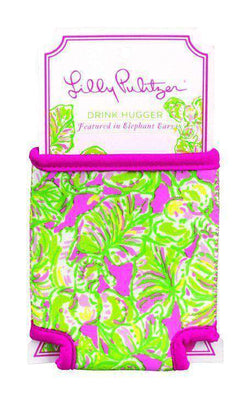 Can Holders - Drink Hugger In Elephant Ears By Lilly Pulitzer