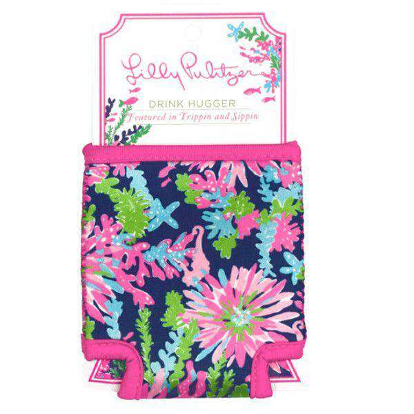 Can Holders - Drink Hugger In Trippin' And Sippin' Navy By Lilly Pulitzer