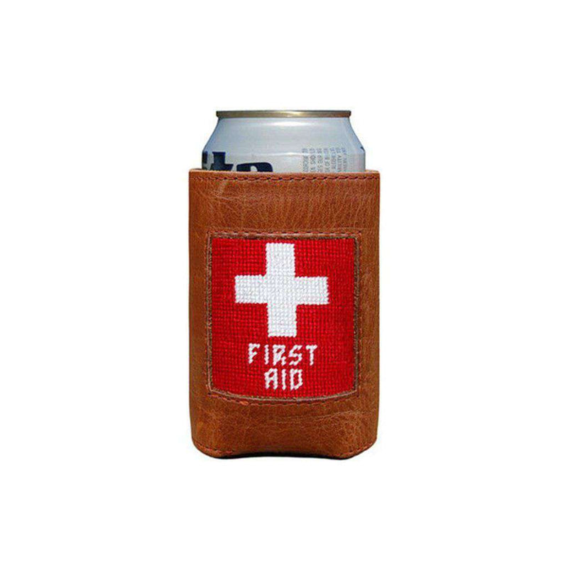 First Aid Needlepoint Can Holder by Smathers & Branson