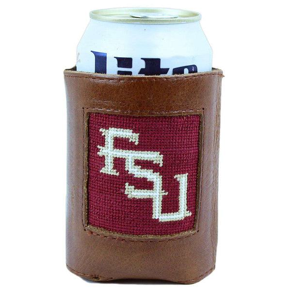 Florida State University Needlepoint Can Holder by Smathers & Branson