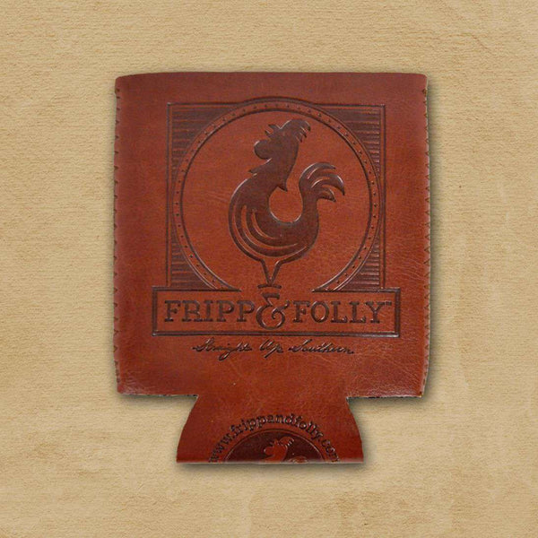"Can Holders - Fripp Logo ""Vegan"" Leather /Neoprene Can Holder By Fripp & Folly"