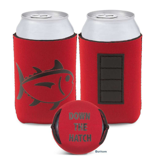 Gameday Magnetic Can Caddie in Chianti and Black by Southern Tide