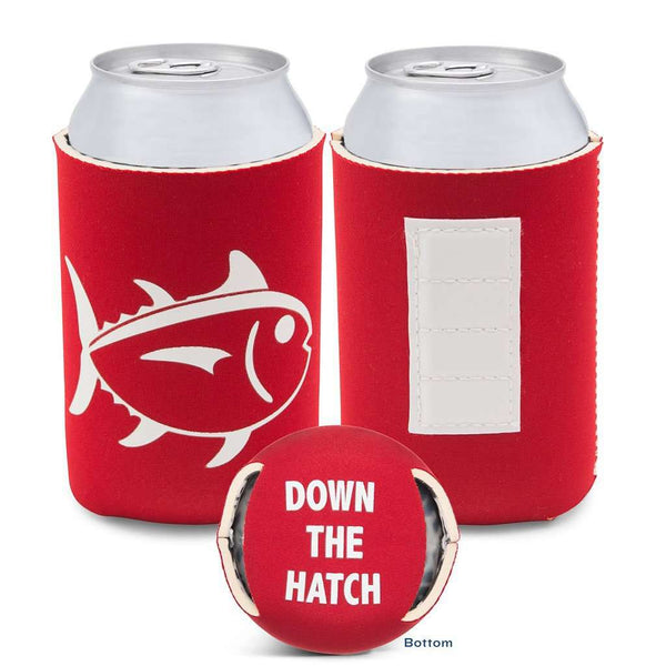 Can Holders - Gameday Magnetic Can Caddie In Crimson And White By Southern Tide