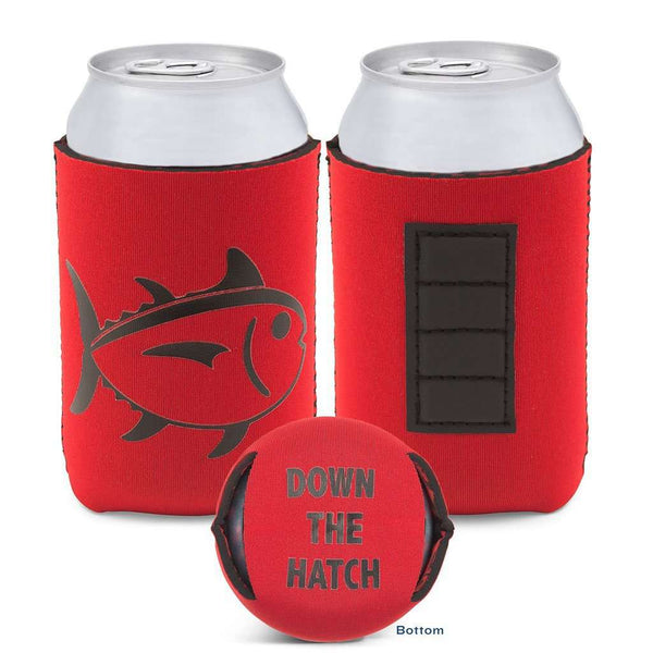 Can Holders - Gameday Magnetic Can Caddie In Varsity Red And Black By Southern Tide