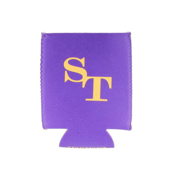 Can Holders - Gameday Reversible Can Caddie In Regal Purple And Gold By Southern Tide