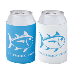 Gameday Reversible Can Caddie in True Blue and White by Southern Tide