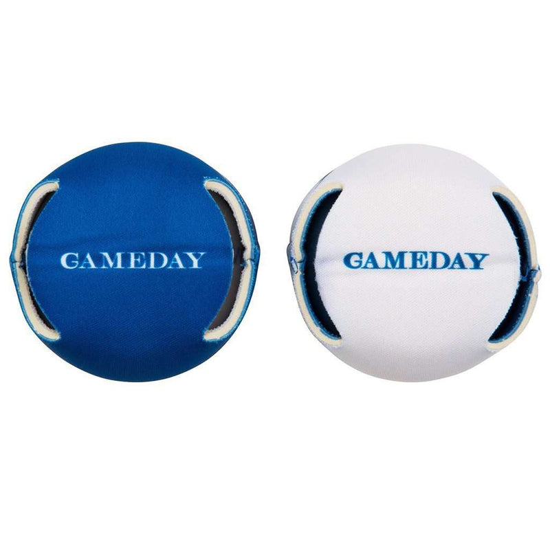 Gameday Reversible Can Caddie in University Blue and White by Southern Tide