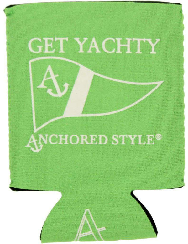 Get Yachty Can Holder in Neon Green by Anchored Style