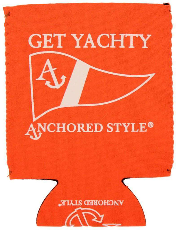 Get Yachty Can Holder in Neon Orange by Anchored Style