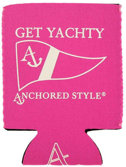 Can Holders - Get Yachty Can Holder In Neon Pink By Anchored Style