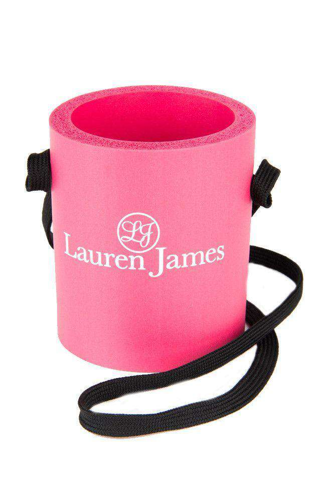 Can Holders - Hanging Can Holder In Pink By Lauren James - FINAL SALE