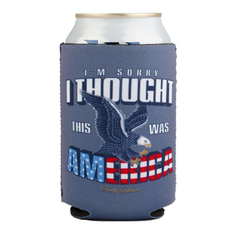 I'm Sorry I Thought This Was America Beer Sleeve by Rowdy Gentleman