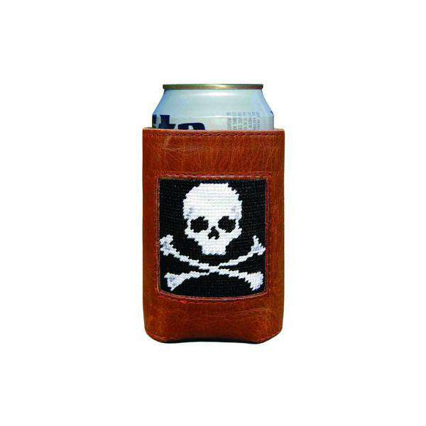 Can Holders - Jolly Roger Needlepoint Can Holder By Smathers & Branson