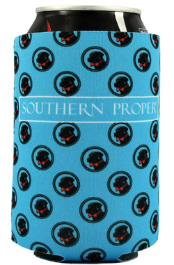Can Holders - Logo Can Holder In Blue By Southern Proper