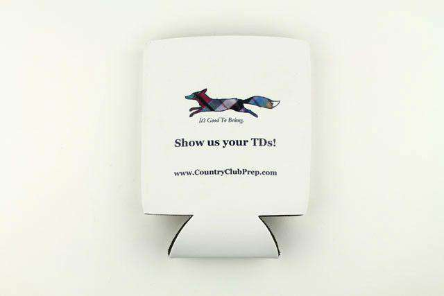 "Can Holders - ""Longshanks"" Show Us Your TDS Can Holder In White By Country Club Prep"