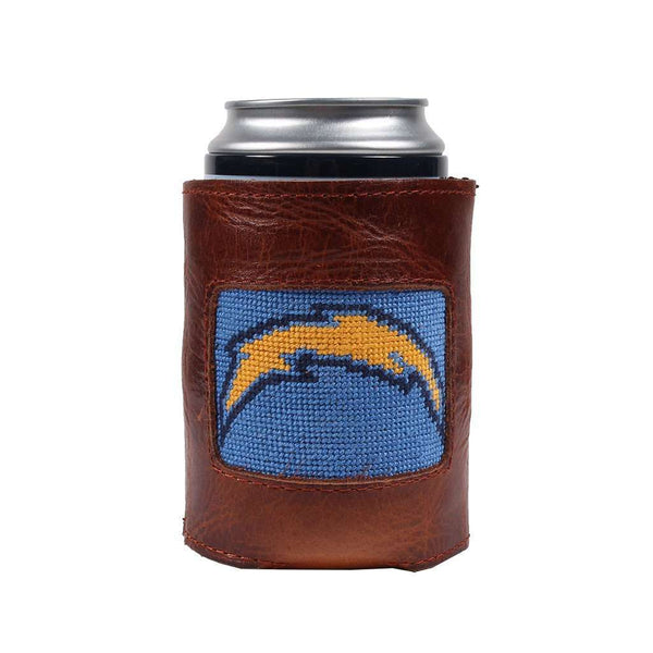Los Angeles Chargers Needlepoint Can Holder by Smathers & Branson