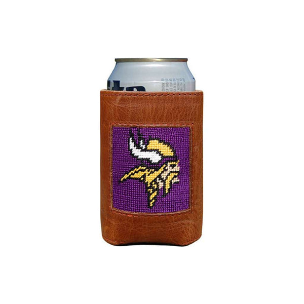 Minnesota Vikings Needlepoint Can Holder by Smathers & Branson