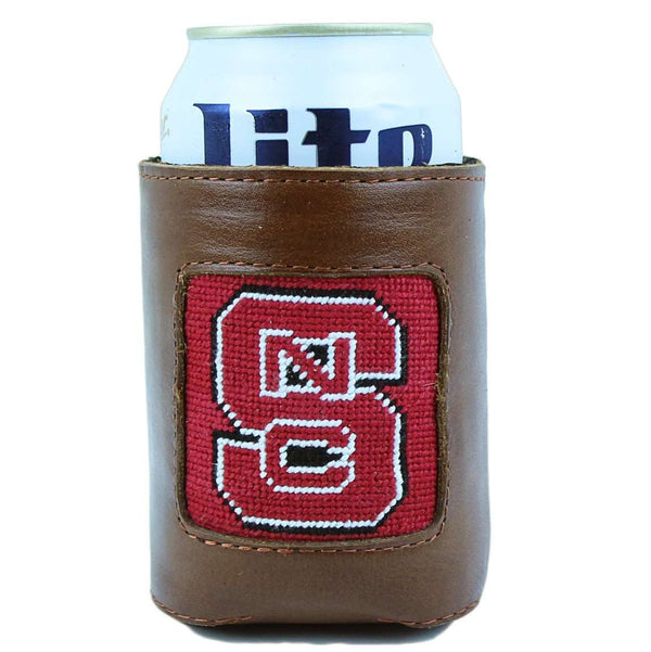 Can Holders - NC State University Needlepoint Can Holder By Smathers & Branson