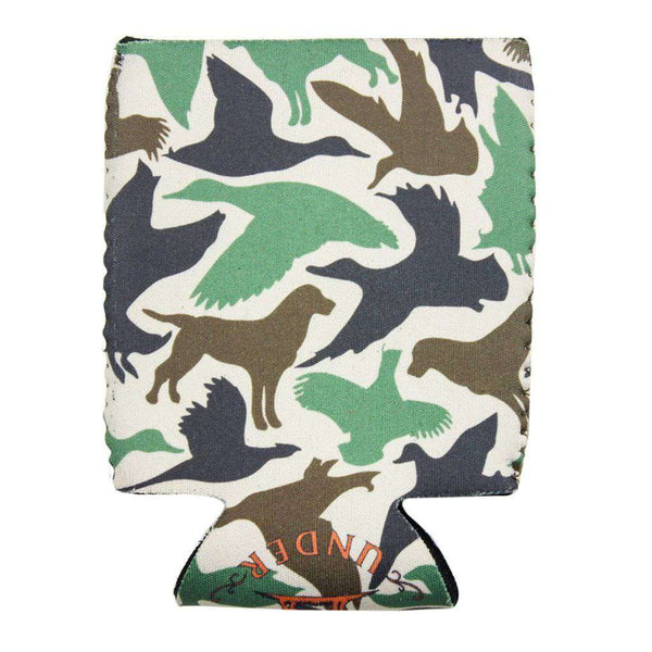 Old School Camo Can Holder by Over Under Clothing