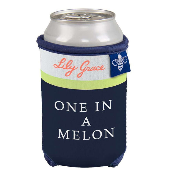 One in A Melon Can Holder by Lily Grace - FINAL SALE