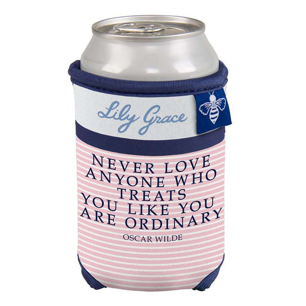 Oscar Wilde Ordinary Can Holder by Lily Grace - FINAL SALE
