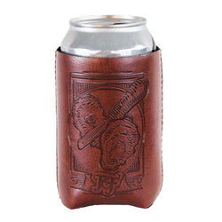 "Can Holders - Oyster ""Vegan"" Leather/Neoprene Can Holder By Fripp & Folly"