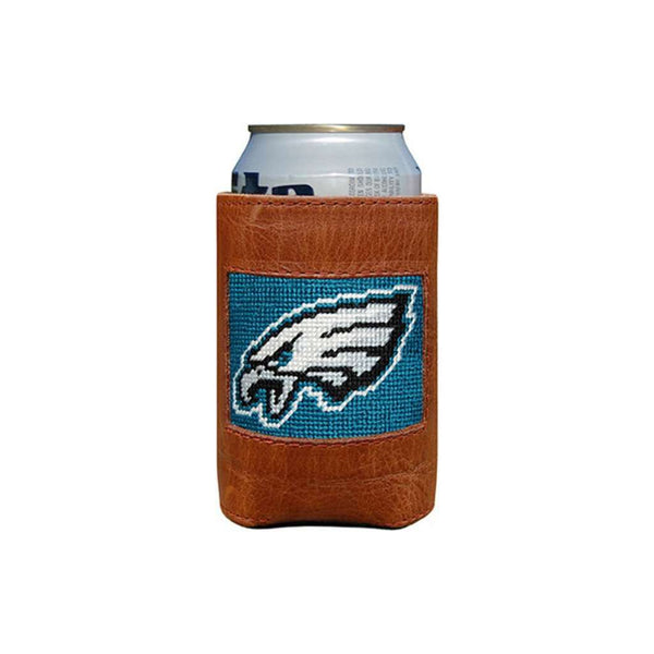 Can Holders - Philadelphia Eagles Needlepoint Can Holder By Smathers & Branson