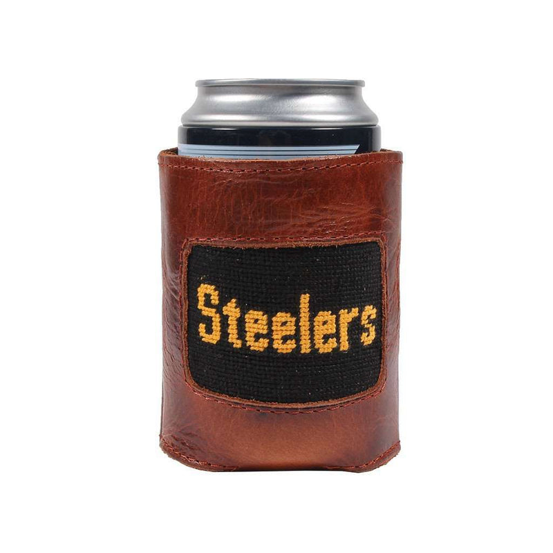 Pittsburgh Steelers Needlepoint Can Holder by Smathers & Branson