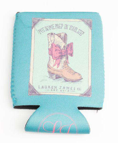 Can Holders - Prep In My Step Can Holder In Seafoam By Lauren James - FINAL SALE