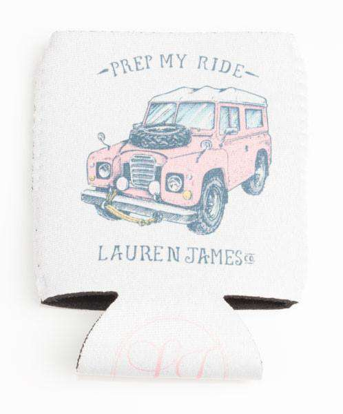 Can Holders - Prep My Ride Can Holder In White By Lauren James - FINAL SALE