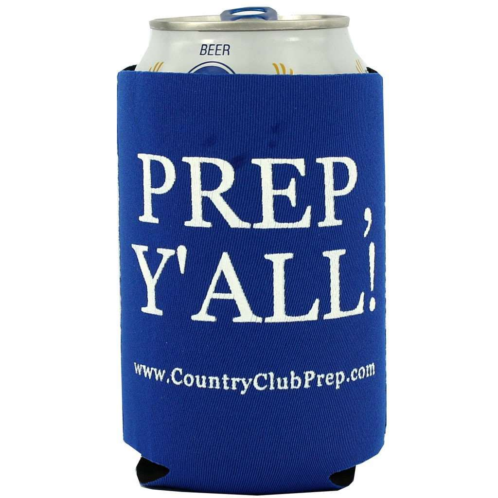 Can Holders - Prep, Y'all! Can Holder In Blue By Country Club Prep
