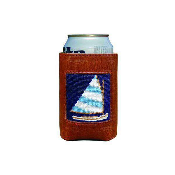 Can Holders - Rainbow Fleet Needlepoint Can Holder By Smathers & Branson