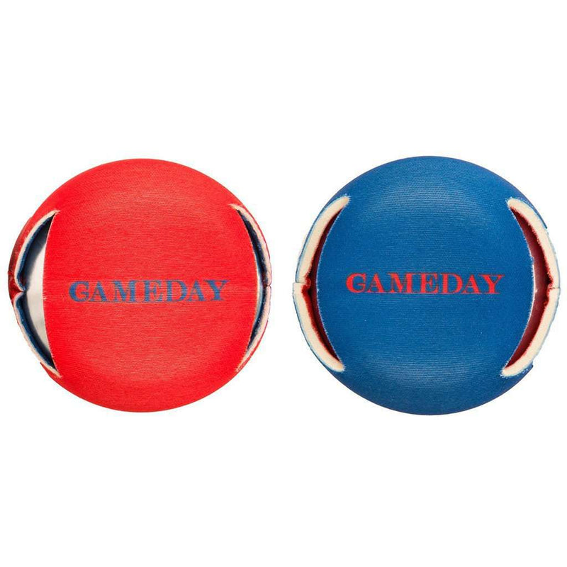 Can Holders - Reversible Gameday Can Caddie In Navy And Red By Southern Tide