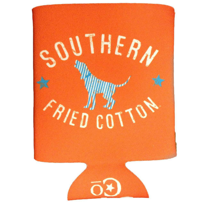 Seersucker Hound Can Holder by Southern Fried Cotton
