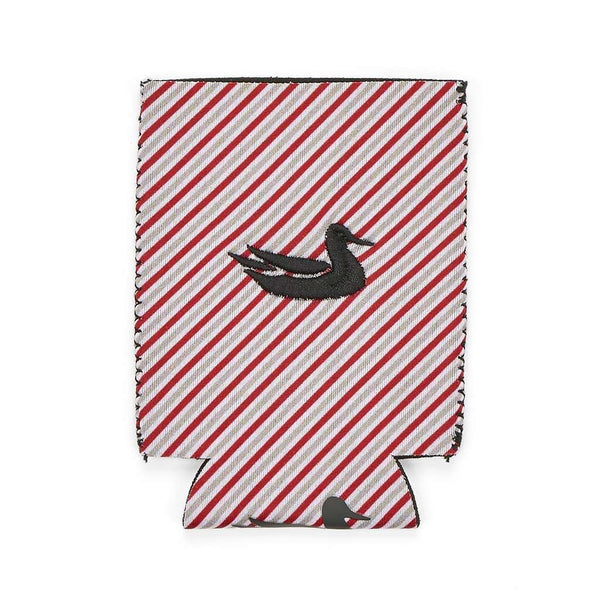 Can Holders - Signature Coozie In Red Stripe By Southern Marsh