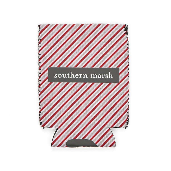 Signature Coozie in Red Stripe by Southern Marsh