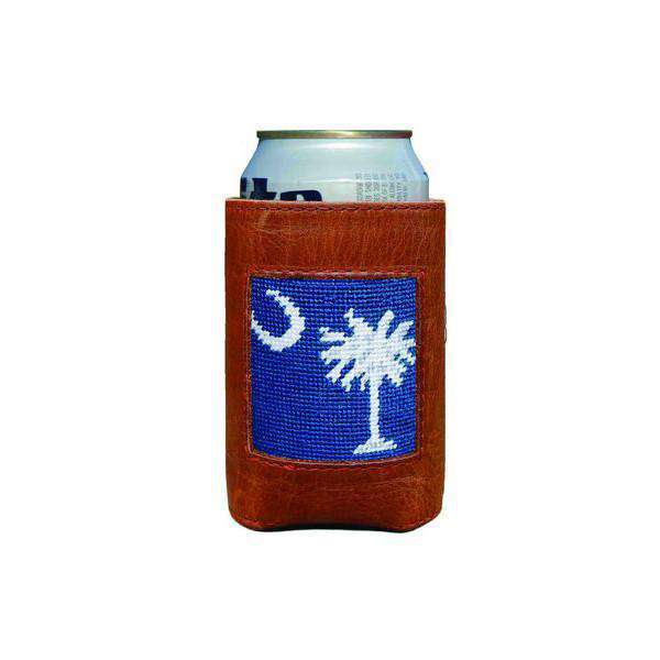 Can Holders - South Carolina Flag Needlepoint Can Holder By Smathers & Branson