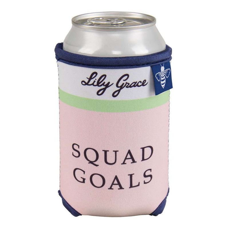 Squad Goals Can Holder by Lily Grace