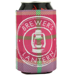 Can Holders - Summer Plaid Can Holder By Brewer's Lantern