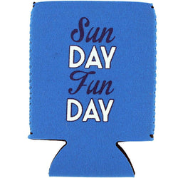 Can Holders - Sunday Funday Can Holder In Blue By Brewer's Lantern