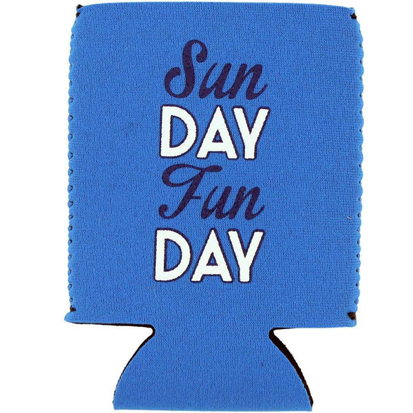 Sunday Funday Can Holder in Blue by Brewer's Lantern