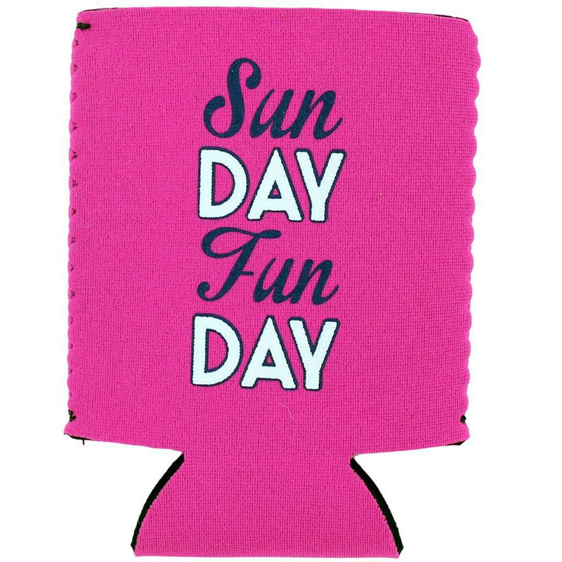 Can Holders - Sunday Funday Can Holder In Pink By Brewer's Lantern